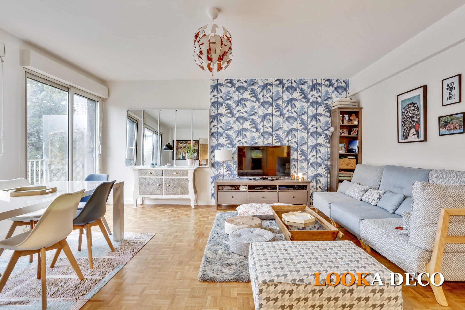 Rénovation complète d'un 4 pièces de 93 m2 | puteaux (92)