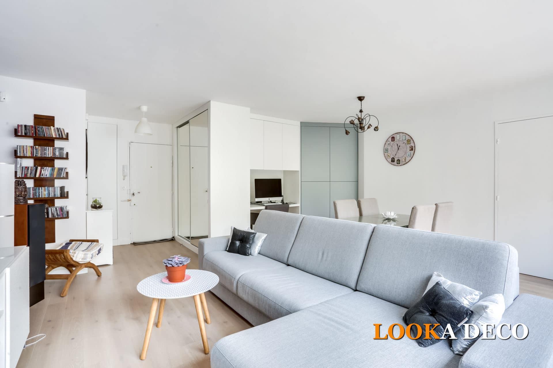 Un appartement 3 pièces restructuré et épuré | NANTERRE (92)