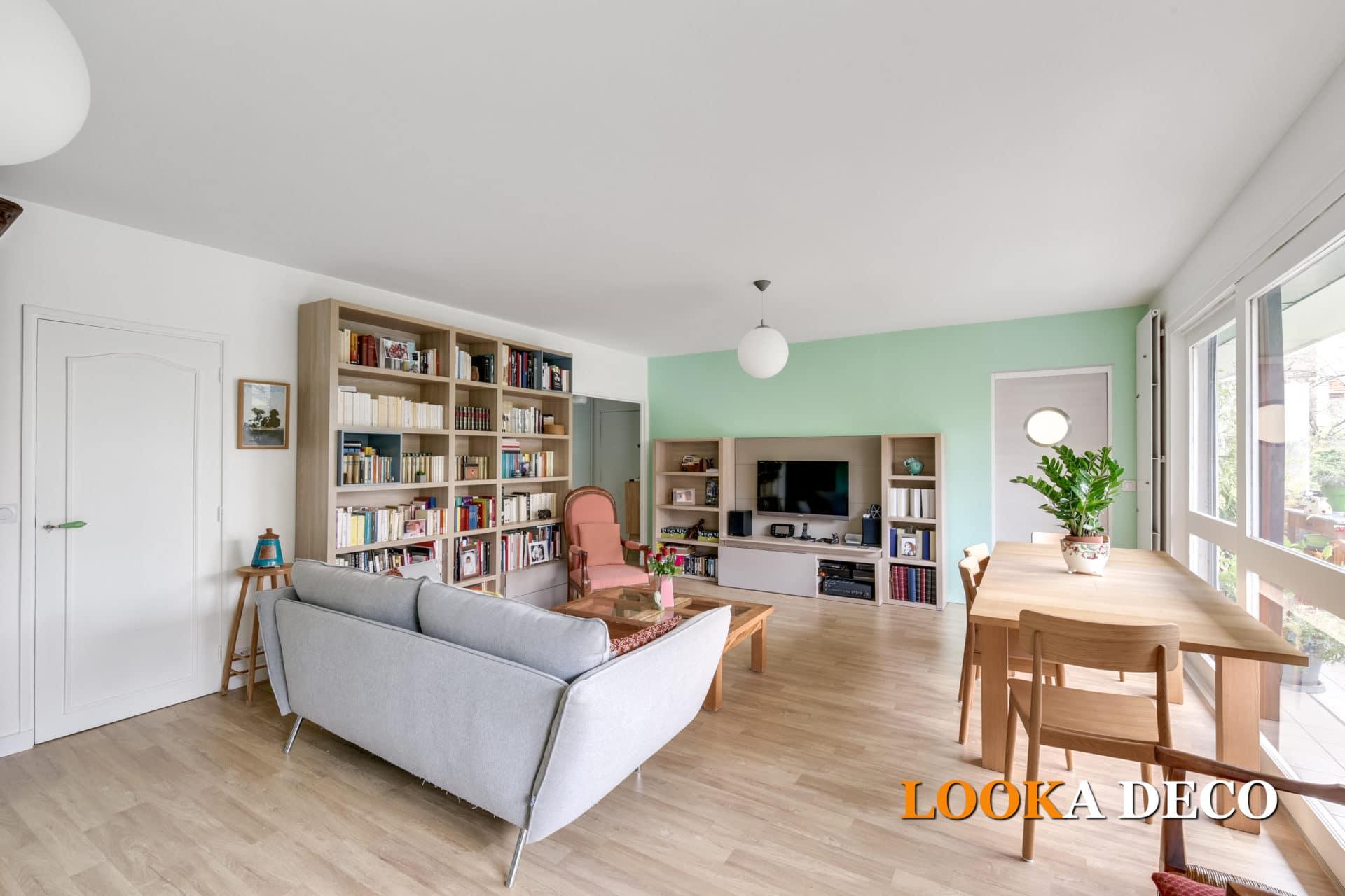Un appartement 3 pièces coloré de 86 m2 – Puteaux (Hauts de Seine)