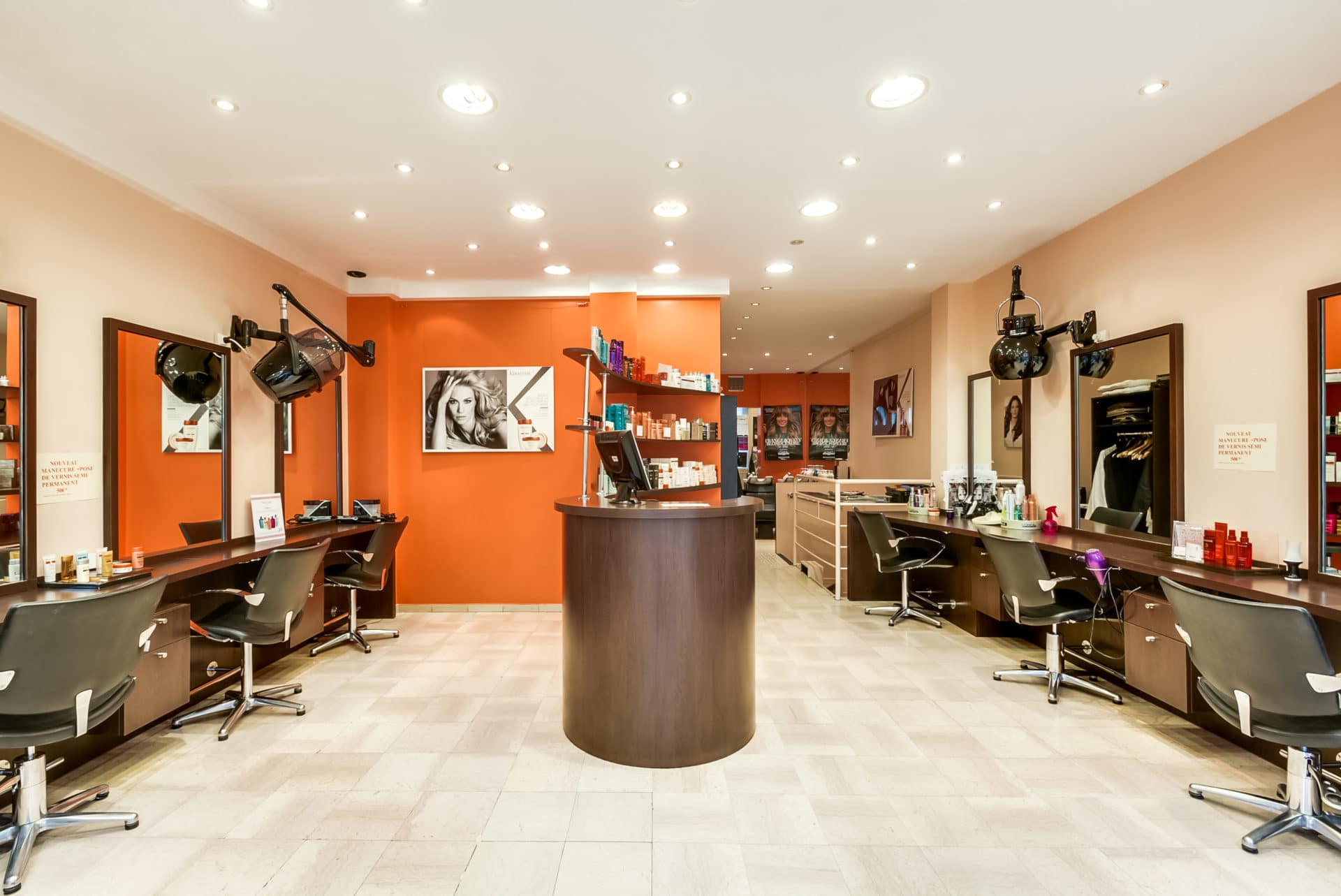 Accessibilité et peps d'un salon de coiffure| Neuilly-sur-seine (92)