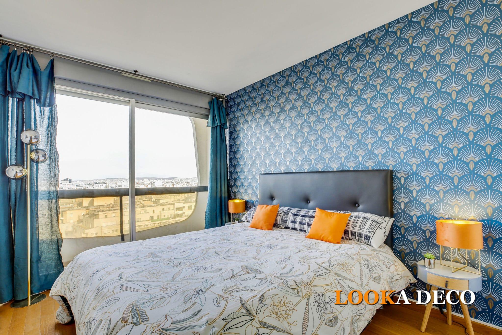 Rénovation et décoration haut de gamme pour location touristique d'un 4 pièces de 82 m2 | Courbevoie (92)
