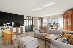 Zenitude et dynamisme pour un 5 pièces lumineux de 125 m2 à NEUILLY !
